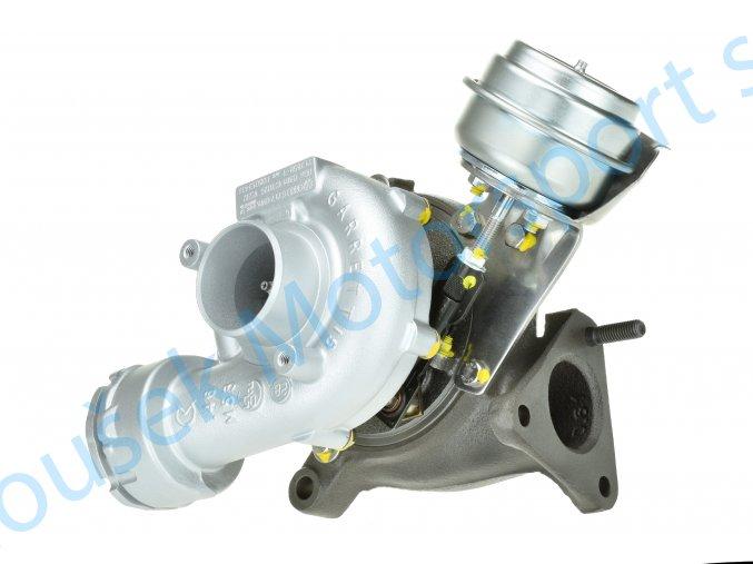 Turbodmychadlo Garrett 717858 GT1749VA 1.9TDi Passat Superb A4 A6 96KW 103KW  Kvalitní turbodmychadlo