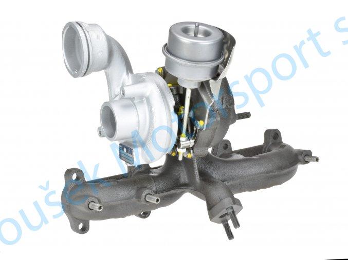 Turbodmychadlo KKK 54399700023 1.9TDi 96KW Fabia RS Alhambra Sharan  Kvalitní turbodmychadlo