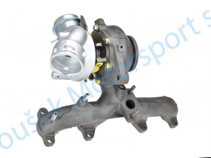 Turbo 54399700072 Volkswagen Caddy 1.9TDi 77kW BLS