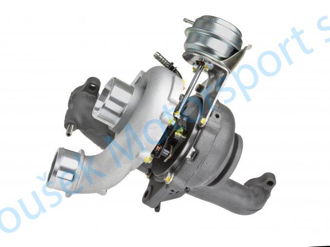 Hybridní turbo GT1652V s velkým sáním Touran 2.0TDi BMM  Kvalitní hybridní turbodmychadlo