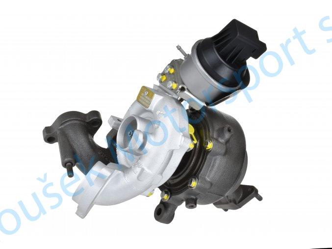 Turbodmychadlo KKK 0205,0139 2.0TDi 103Kw s DPF A3 Passat Golf Tiguan Scirocco  Kvalitní turbodmychadlo