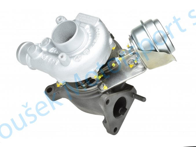 Turbodmychadlo Garrett GT1749VA v obalu GT1749V 1.9TDi A4 A6 Superb Passat  Kvalitní turbodmychadlo
