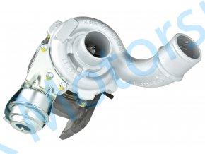 Turbodmychadlo Garrett 708639 1.9DCi 75KW 77KW 85KW 88KW Laguna Megane Nissan Mitsubishi  Kvalitní turbodmychadlo
