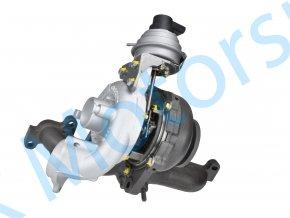 Turbo Garrett 775517 Volkswagen Touran 1.6TDi 66kW CAYB