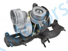Turbodmychadlo KKK 54399700020 1.9TDi 63KW 77KW AXB AXC Transporter Multivan T5  Kvalitní turbodmychadlo