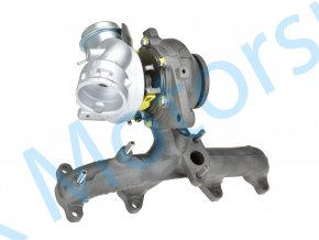 Turbo 54399700072 Volkswagen Caddy 1.9TDi 77kW BLS