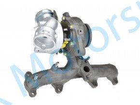 Turbo 54399700072 Volkswagen Touran 1.9TDi 77kW BLS
