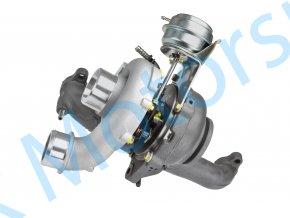 Hybridní turbo GT1652V s velkým sáním Altea 2.0TDi BMM  Kvalitní hybridní turbodmychadlo