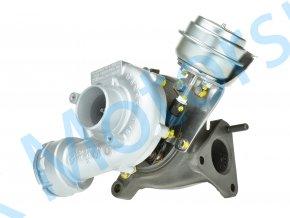 Hybridní turbodmychadlo Garrett GT1752V v obalu GT1749VA Passat Superb A4 A6 96KW 103KW  Kvalitní turbodmychadlo