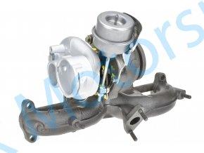 Turbo KKK 54399700022 1.9TDi 77KW s kompresorovou skříní Fabia RS  Kvalitní turbodmychadlo