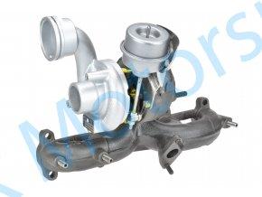 Turbo KKK 54399700016 Fabia Polo Ibiza 1.9TDi 96kW BLT  Kvalitní turbodmychadlo