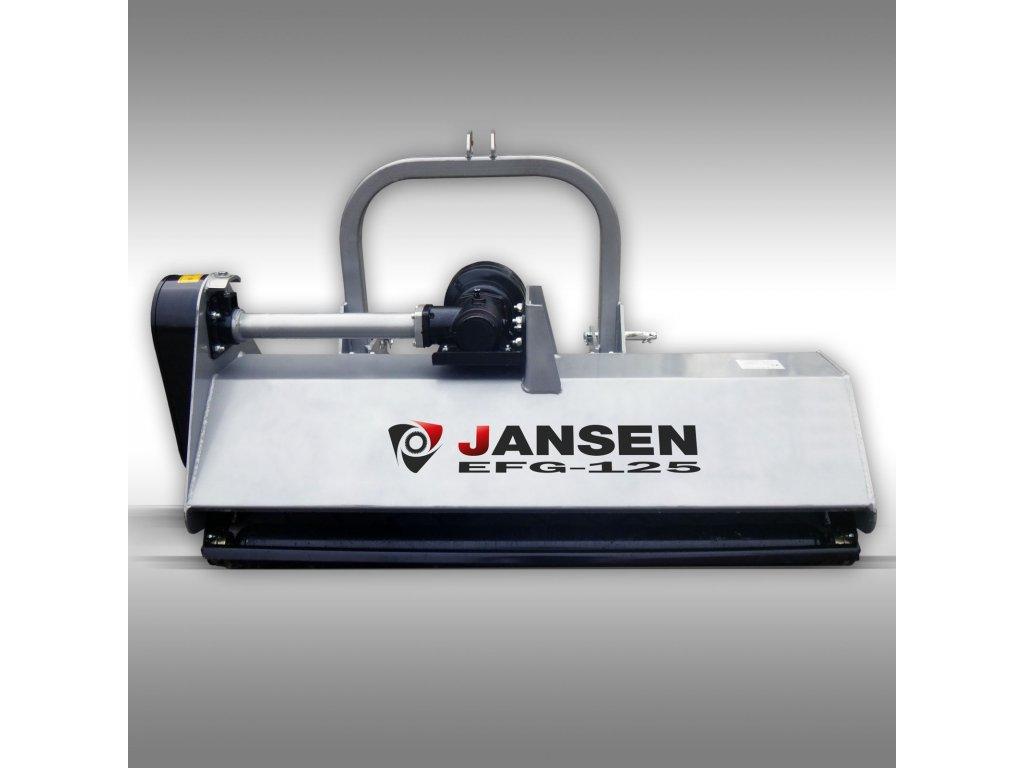 mulčovač, sekačka jansen efg 125