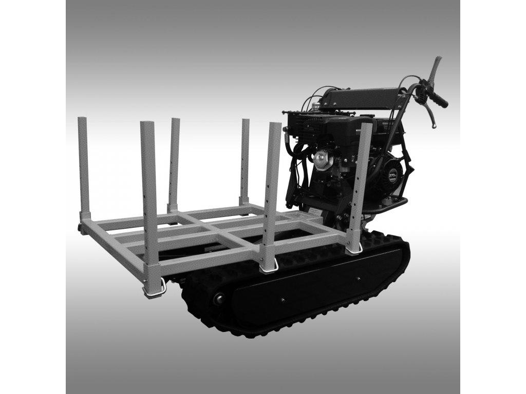 korba na dřevo, stanchion rack pro dumpery jansen rd 200, rd 300, rd 500