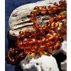 Náhrdelník - medové kuličky