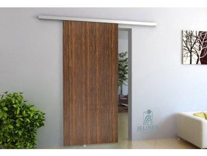 TRIX ZERO pro dřevěné dveře jednokřídlý posuv