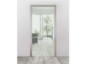 Celoskleněné dveře do pouzdra - Čiré (Průchozí výška (cm) 210, Průchozí šířka (cm) 120)