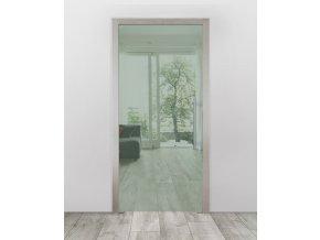 Celoskleněné dveře do pouzdra - Planibel zelená (Průchozí výška (cm) 210, Průchozí šířka (cm) 120)