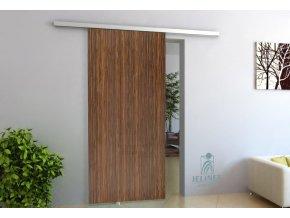 TRIX ZERO pro dřevěné dveře - jednokřídlý posuv