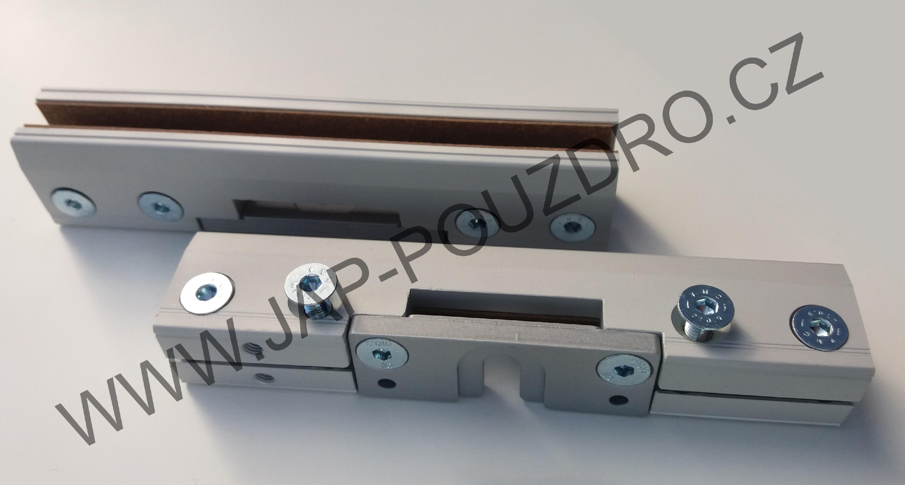 Úchyty VETRO 22 JAP pro sklenené dveře pro pouzdra Norma Tloušťka skla: 8 mm