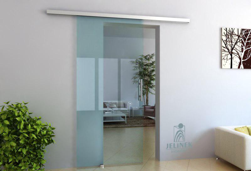 TRIX ZERO pro celoskleněné dveře jednokřídlý posuv Šířka průchodu: 600 mm