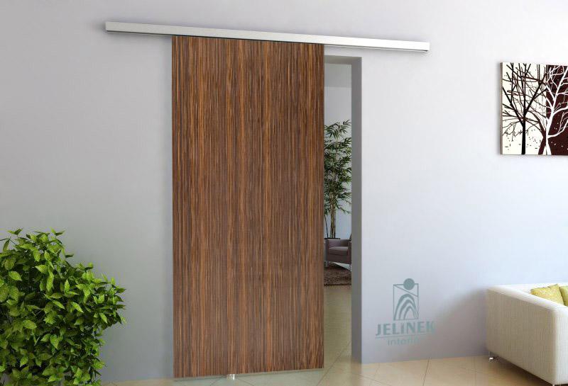 TRIX ZERO pro dřevěné dveře jednokřídlý posuv Šířka průchodu: 600 mm