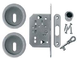Zámek kulatý - kloubový klíč Povrch: OSC - chrom matný