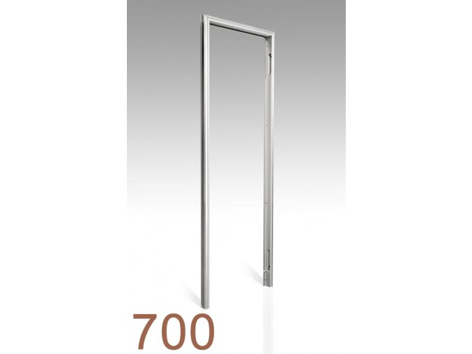 700 mm - Skrytá zárubeň AKTIVE 25/15
