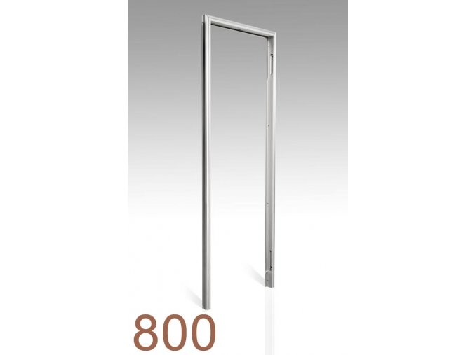 800 mm - Skrytá zárubeň AKTIVE 25/15
