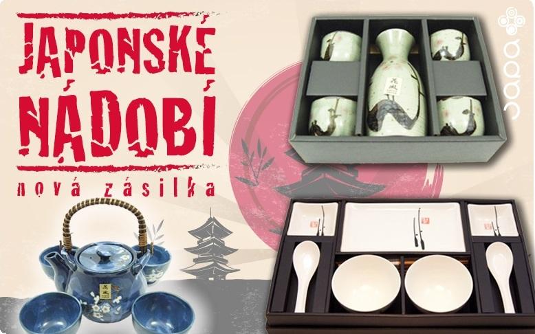 Velký výběr z originálního japonského nádobí