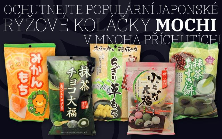 Populární japonské koláčky Mochi
