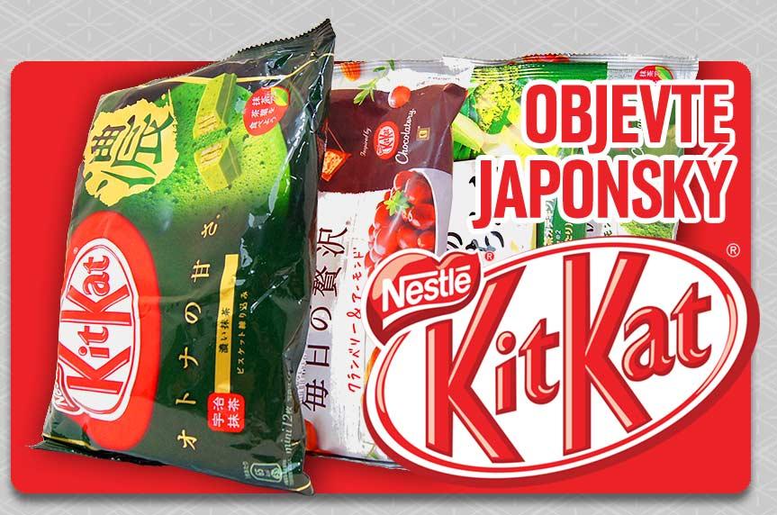 Velký výběr japonských čokolád Kitkat!