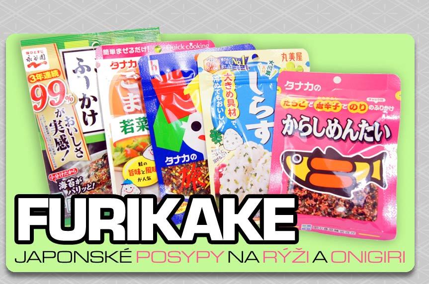 Sypání na rýži Furikake