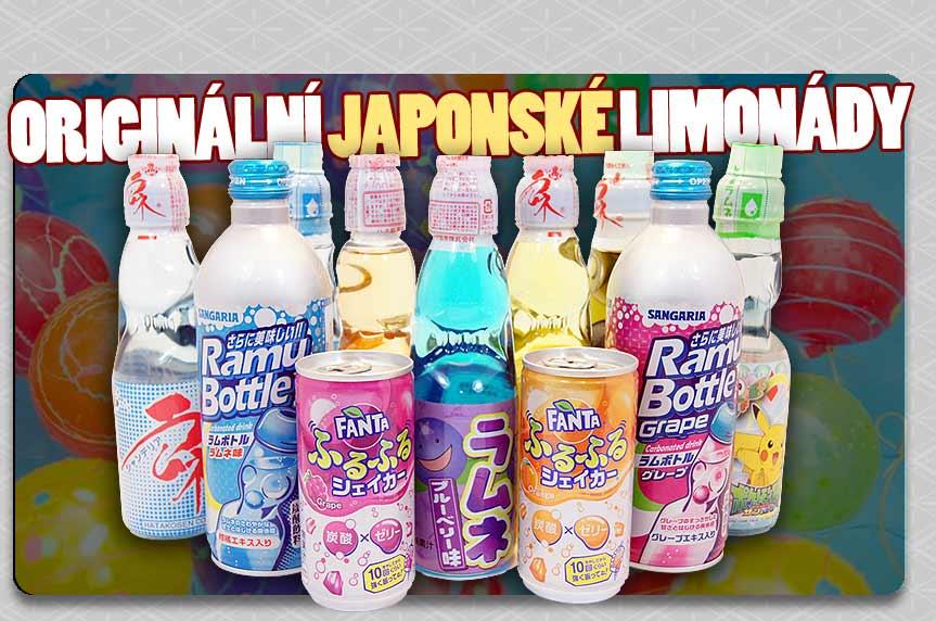 Největší výběr japonských limonád Ramune!
