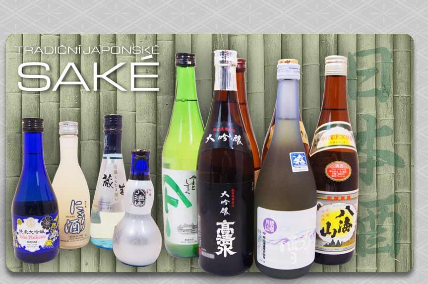 Velký výběr japonských rýžových vín Sake!