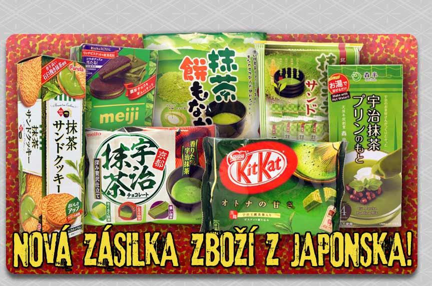 Nová zásilka zboží z Japonska