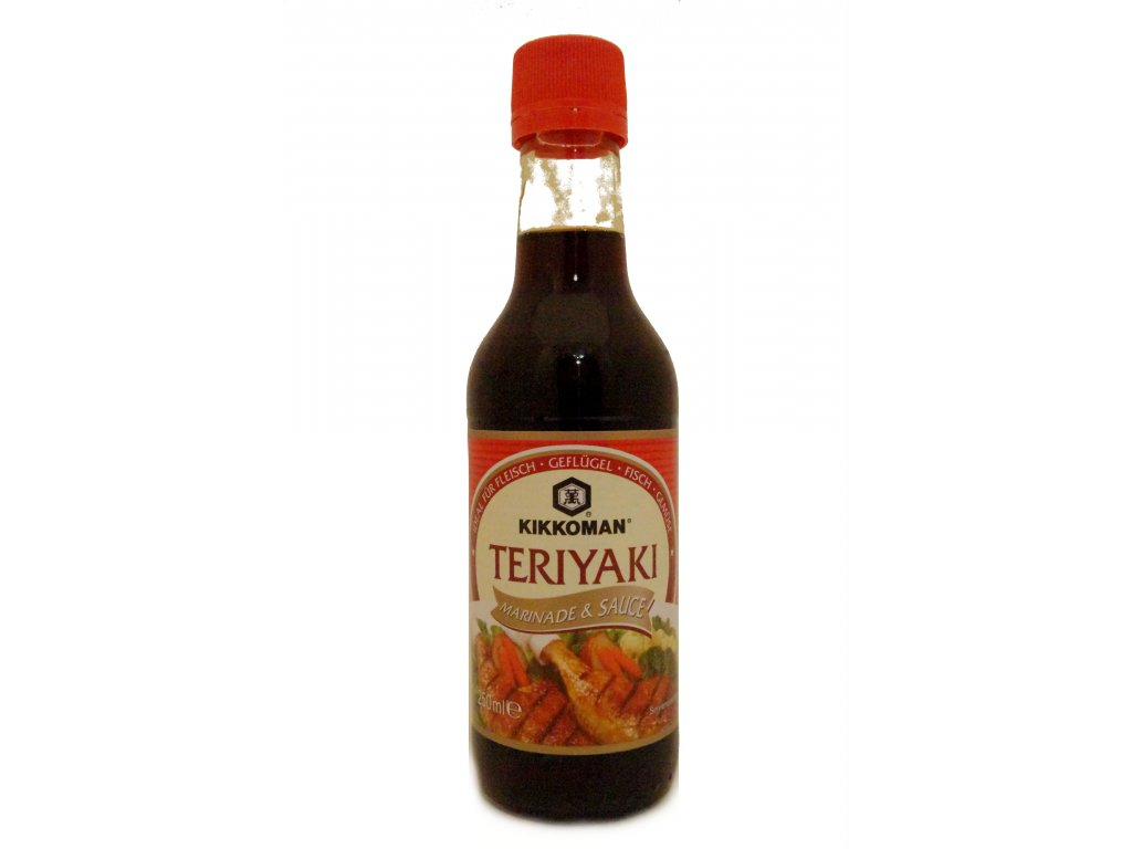 Kikkoman Teriyaki Sauce 250ml - Teriyaki omáčka
