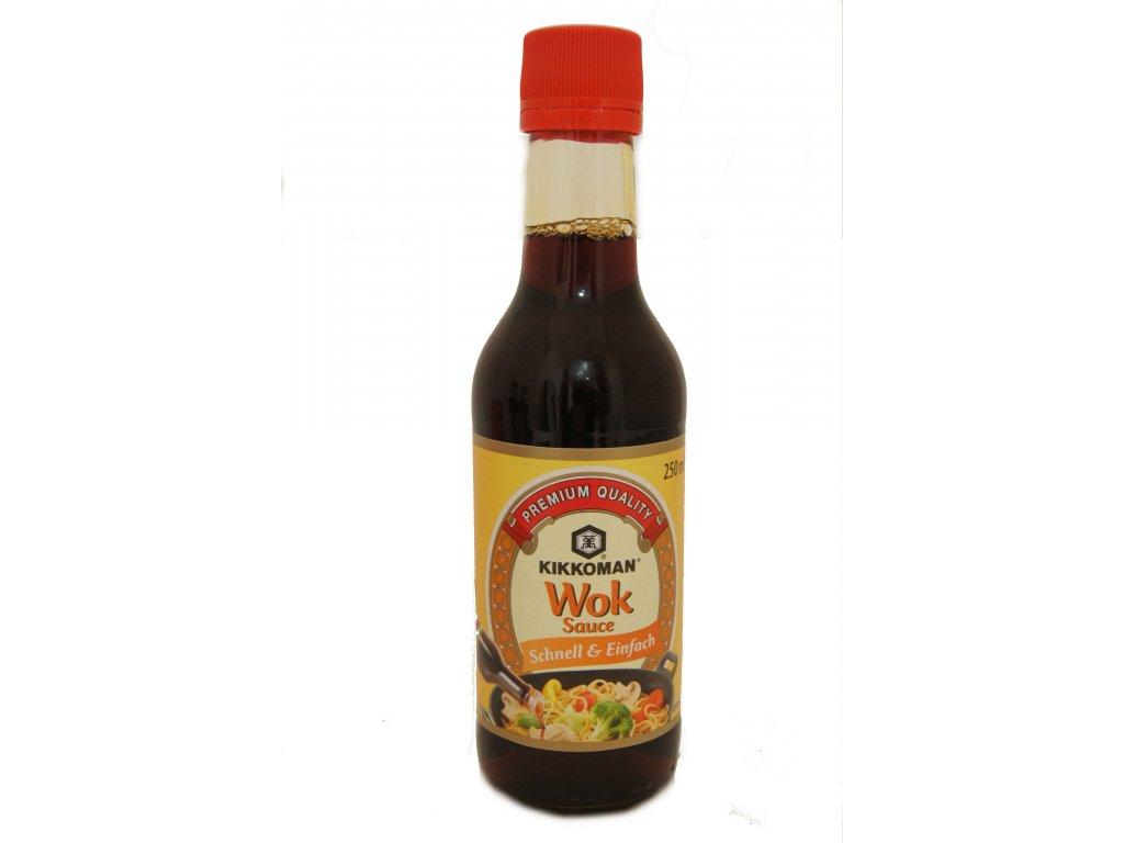 Kikkoman Wok (Sukiyaki) Sauce 250 ml - sladká sójová omáčka