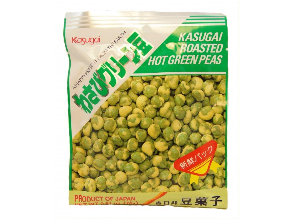Kameda Kasugai Wasabi peas 74g