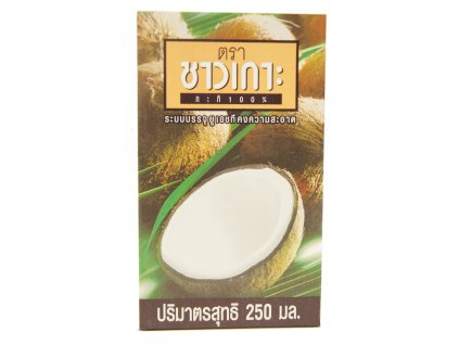 Chaokoh 100% coconut milk 250ml