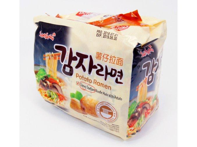 SamYang Potato Ramen 5p