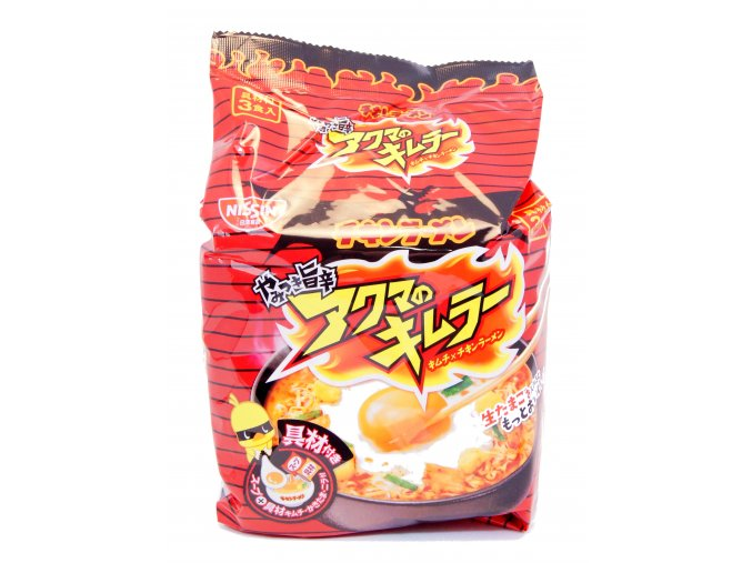 Nissin Chicken ramen Hot 3p