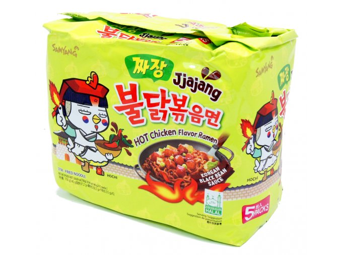 SamYang Hot Chicken Jjajang 5p