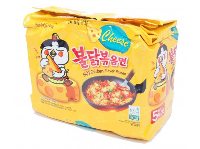 SamYang Hot Chicken Cheese 5p