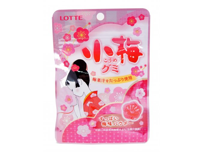 Lotte Sakura Gummy Candy 34g