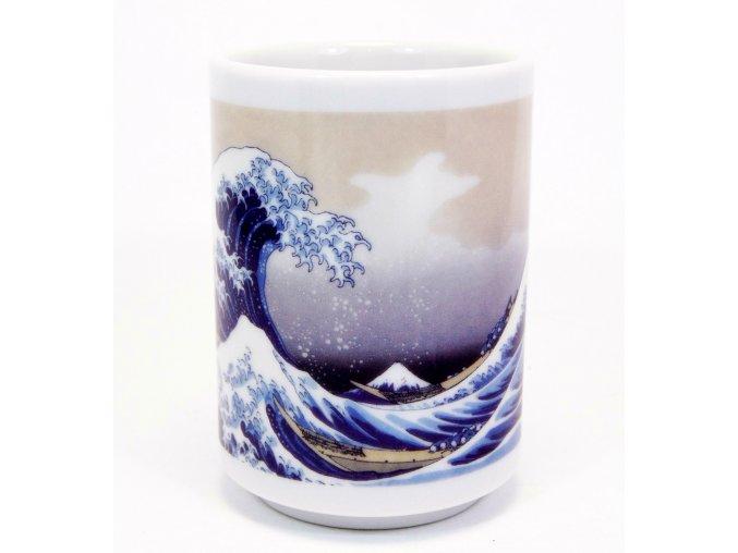 Fuji Keramický Hrnek se vzorem vlny