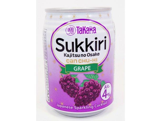 Takara Sukkiri Grape 250ml