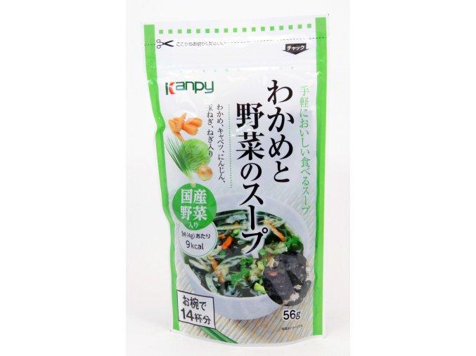 Kanpee Wakame to Yasai no Soup 56g