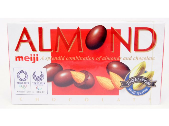 Eiji Almond Chocolate 88g Prošlé datum min. trvanlivosti
