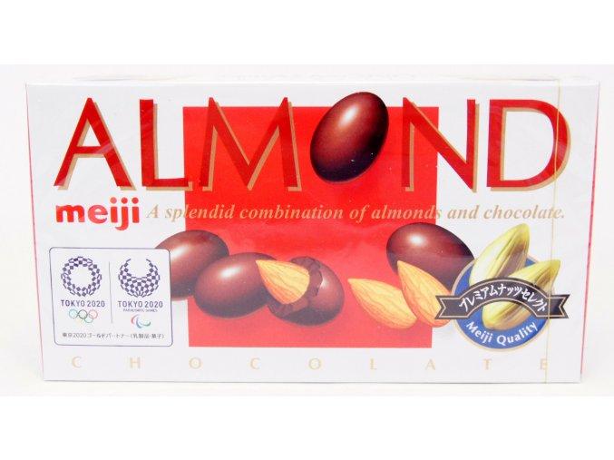 Meiji Almond Chocolate 88g Prošlé datum min. trvanlivosti