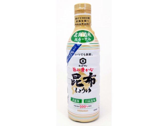 Kikkoman Itsudemo Yutakana Kombu Shoyu 450ml